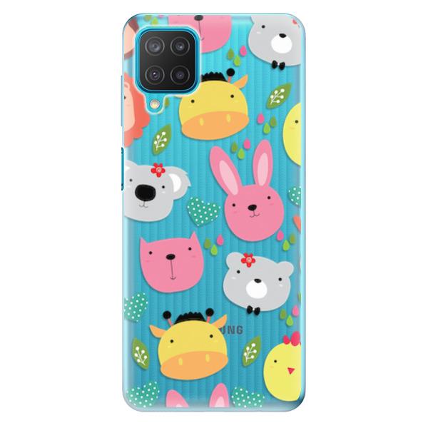 Odolné silikonové pouzdro iSaprio - Animals 01 - Samsung Galaxy M12