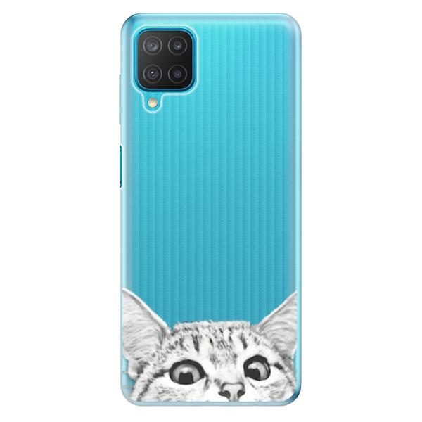Odolné silikonové pouzdro iSaprio - Cat 02 - Samsung Galaxy M12