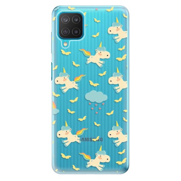 Odolné silikonové pouzdro iSaprio - Unicorn pattern 01 - Samsung Galaxy M12