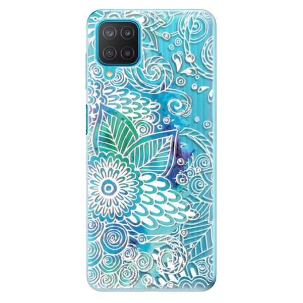 Odolné silikonové pouzdro iSaprio - Lace 03 - Samsung Galaxy M12