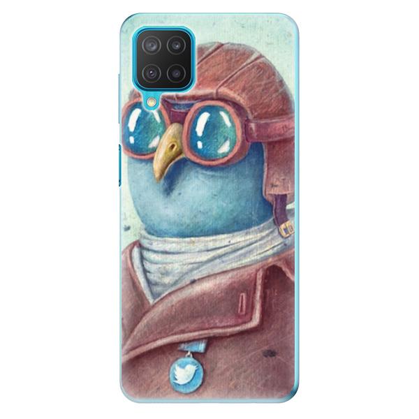 Odolné silikonové pouzdro iSaprio - Pilot twitter - Samsung Galaxy M12