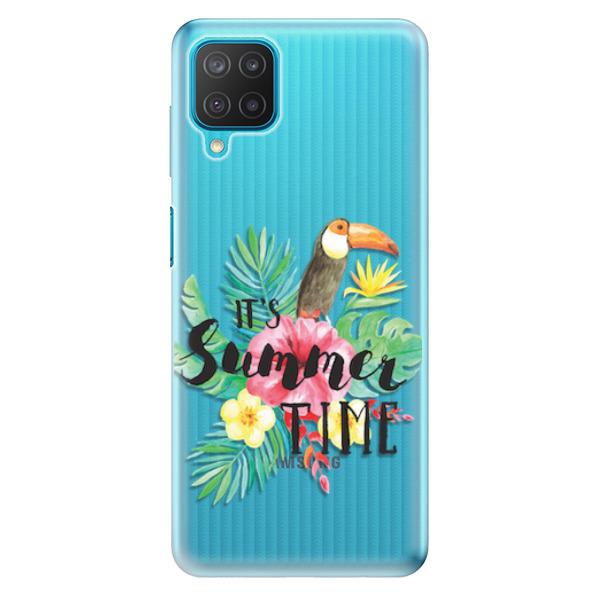 Odolné silikonové pouzdro iSaprio - Summer Time - Samsung Galaxy M12