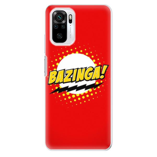 Odolné silikonové pouzdro iSaprio - Bazinga 01 - Xiaomi Redmi Note 10 / Note 10S