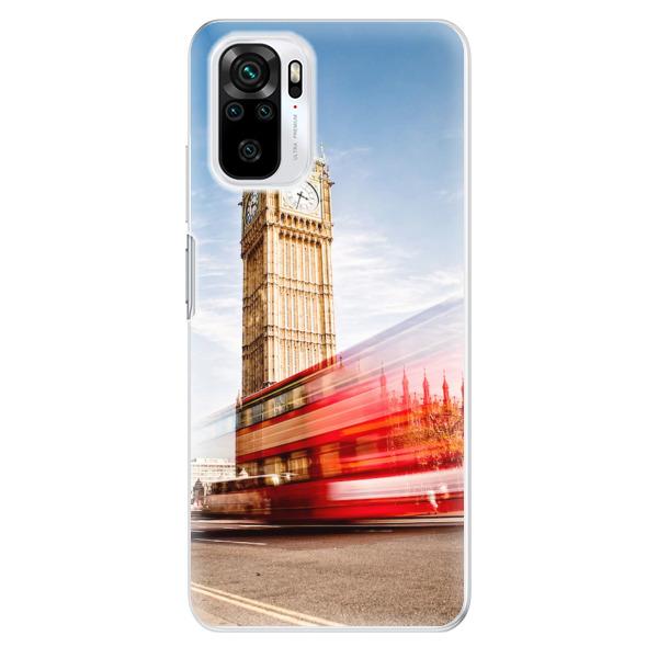Odolné silikonové pouzdro iSaprio - London 01 - Xiaomi Redmi Note 10 / Note 10S