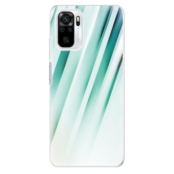 Odolné silikonové pouzdro iSaprio - Stripes of Glass - Xiaomi Redmi Note 10 / Note 10S
