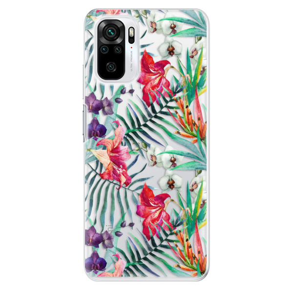 Odolné silikonové pouzdro iSaprio - Flower Pattern 03 - Xiaomi Redmi Note 10 / Note 10S