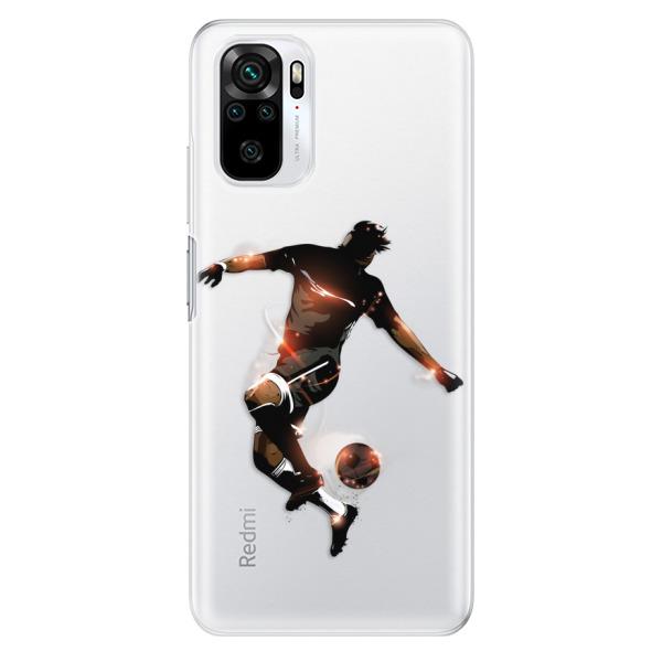 Odolné silikonové pouzdro iSaprio - Fotball 01 - Xiaomi Redmi Note 10 / Note 10S