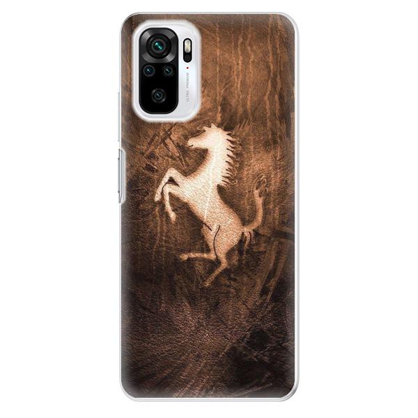 Odolné silikonové pouzdro iSaprio - Vintage Horse - Xiaomi Redmi Note 10 / Note 10S