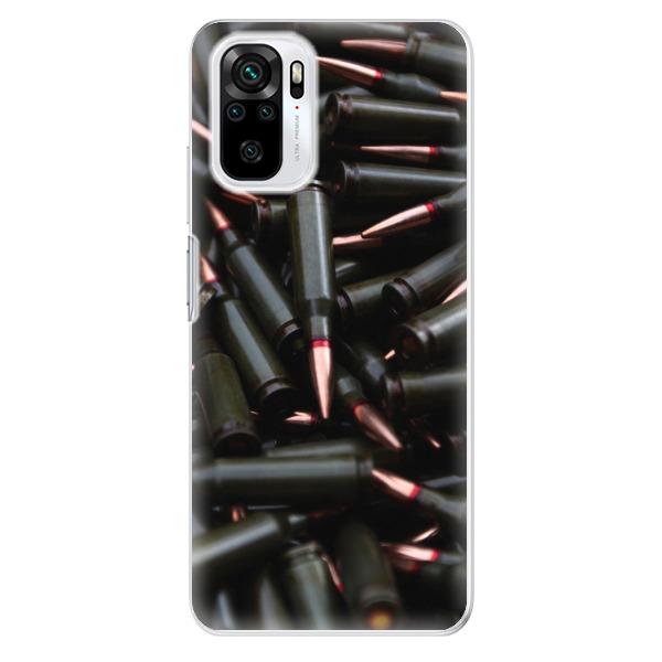 Odolné silikonové pouzdro iSaprio - Black Bullet - Xiaomi Redmi Note 10 / Note 10S
