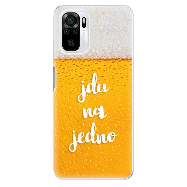 Odolné silikonové pouzdro iSaprio - Jdu na jedno - Xiaomi Redmi Note 10 / Note 10S