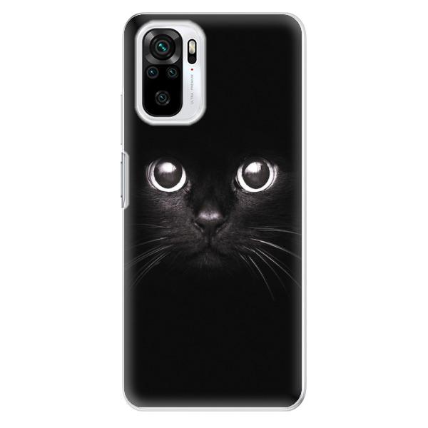 Odolné silikonové pouzdro iSaprio - Black Cat - Xiaomi Redmi Note 10 / Note 10S