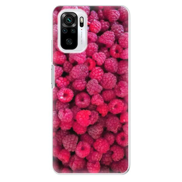 Odolné silikonové pouzdro iSaprio - Raspberry - Xiaomi Redmi Note 10 / Note 10S