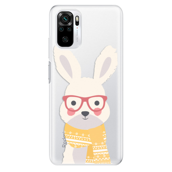 Odolné silikonové pouzdro iSaprio - Smart Rabbit - Xiaomi Redmi Note 10 / Note 10S