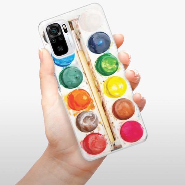 Odolné silikonové pouzdro iSaprio - Watercolors - Xiaomi Redmi Note 10 / Note 10S