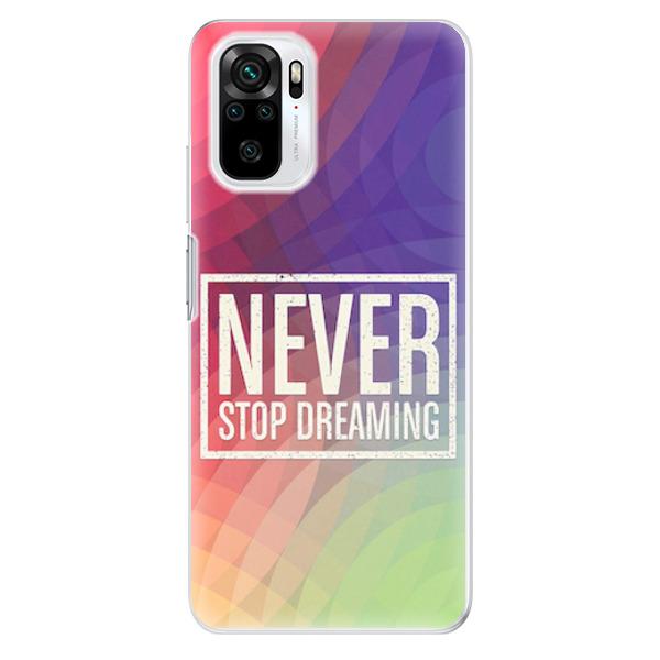 Odolné silikonové pouzdro iSaprio - Dreaming - Xiaomi Redmi Note 10 / Note 10S