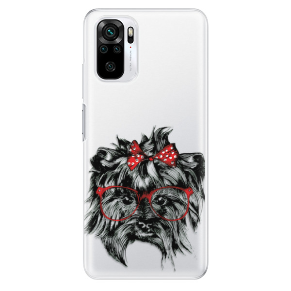 Odolné silikonové pouzdro iSaprio - Dog 03 - Xiaomi Redmi Note 10 / Note 10S