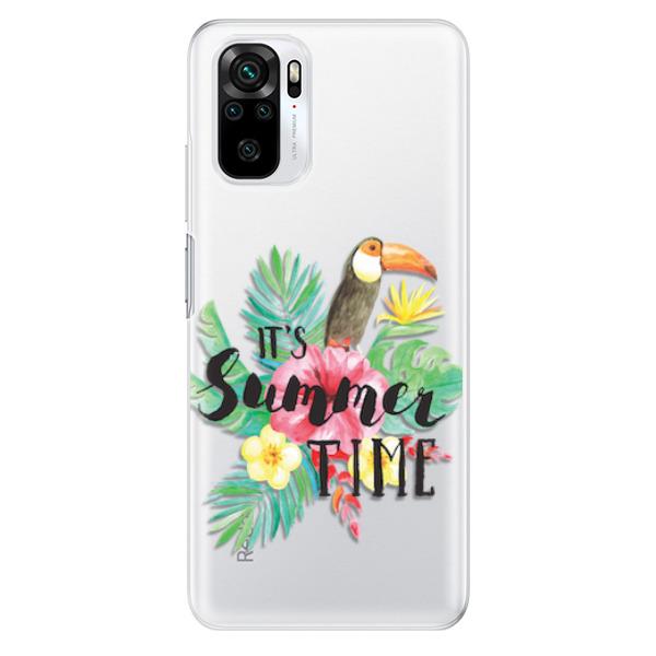 Odolné silikonové pouzdro iSaprio - Summer Time - Xiaomi Redmi Note 10 / Note 10S