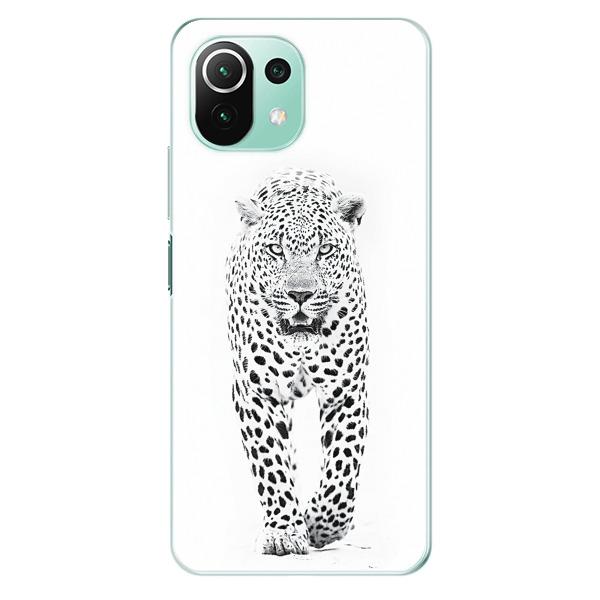 Odolné silikonové pouzdro iSaprio - White Jaguar - Xiaomi Mi 11 Lite