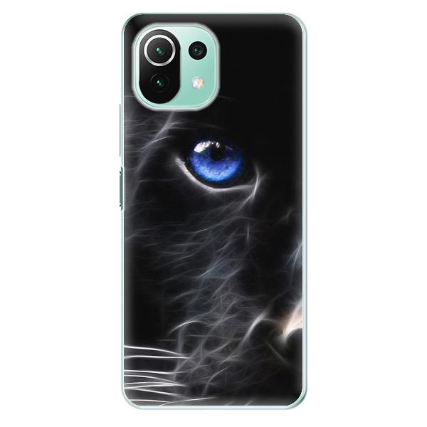 Odolné silikonové pouzdro iSaprio - Black Puma - Xiaomi Mi 11 Lite