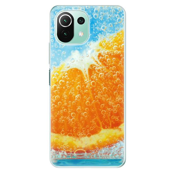 Odolné silikonové pouzdro iSaprio - Orange Water - Xiaomi Mi 11 Lite