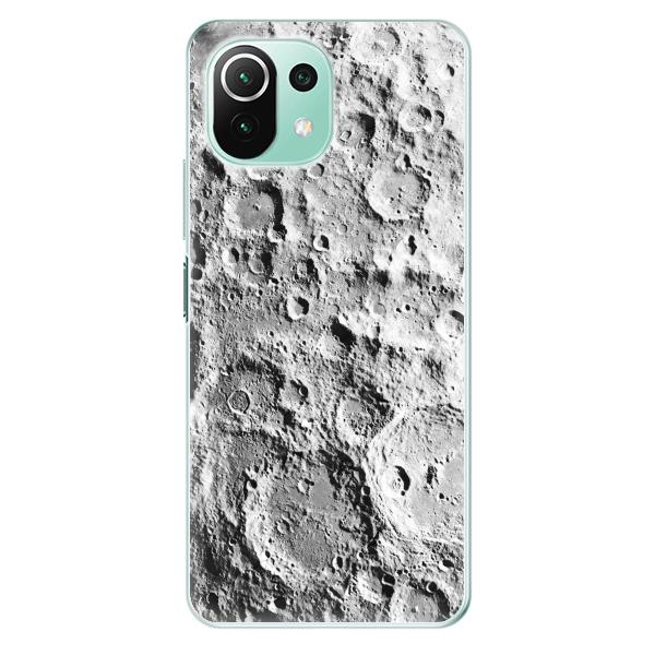 Odolné silikonové pouzdro iSaprio - Moon Surface - Xiaomi Mi 11 Lite