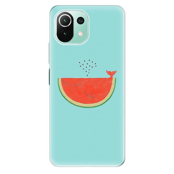 Odolné silikonové pouzdro iSaprio - Melon - Xiaomi Mi 11 Lite