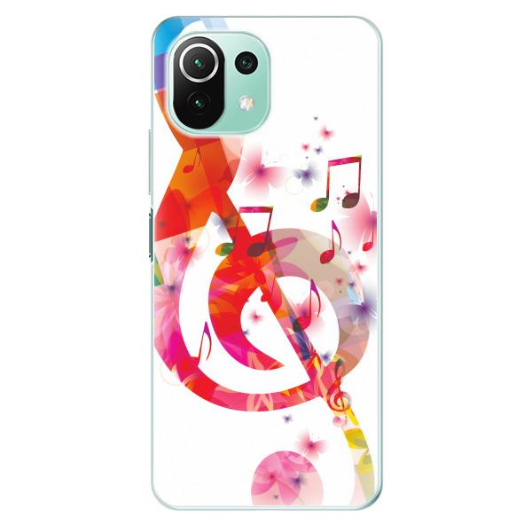 Odolné silikonové pouzdro iSaprio - Love Music - Xiaomi Mi 11 Lite