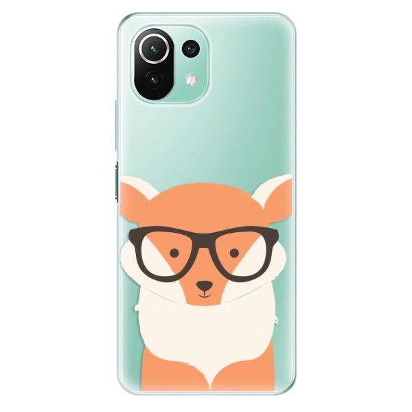 Odolné silikonové pouzdro iSaprio - Orange Fox - Xiaomi Mi 11 Lite