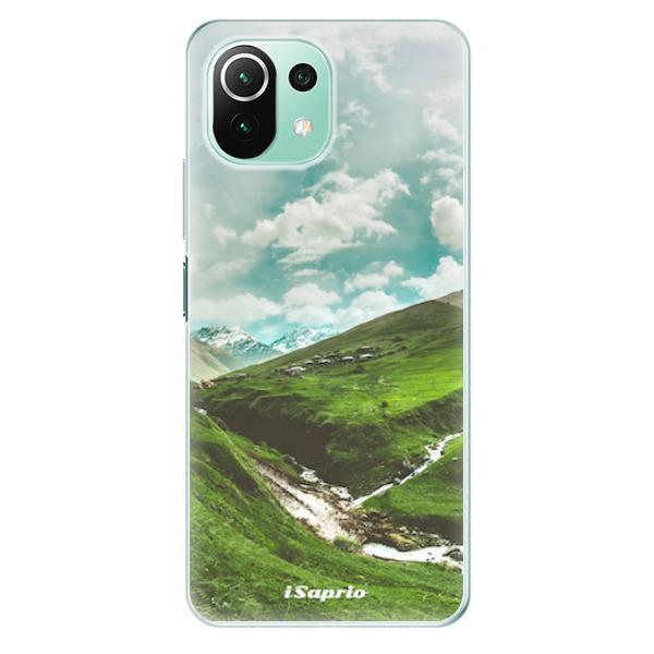 Odolné silikonové pouzdro iSaprio - Green Valley - Xiaomi Mi 11 Lite