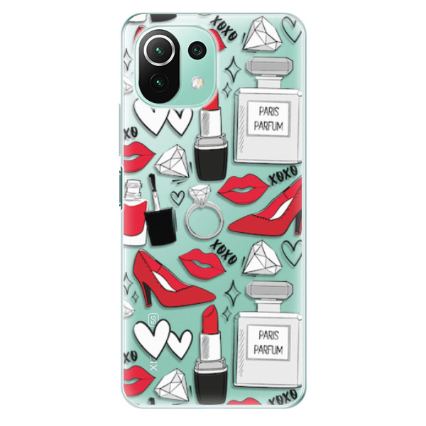 Odolné silikonové pouzdro iSaprio - Fashion pattern 03 - Xiaomi Mi 11 Lite