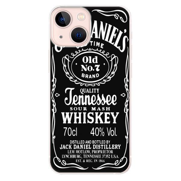 Odolné silikonové pouzdro iSaprio - Jack Daniels - iPhone 13 mini