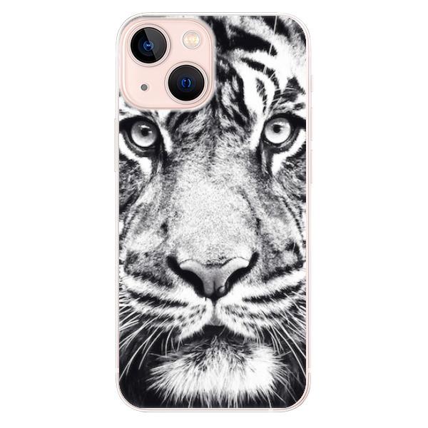 Odolné silikonové pouzdro iSaprio - Tiger Face - iPhone 13 mini