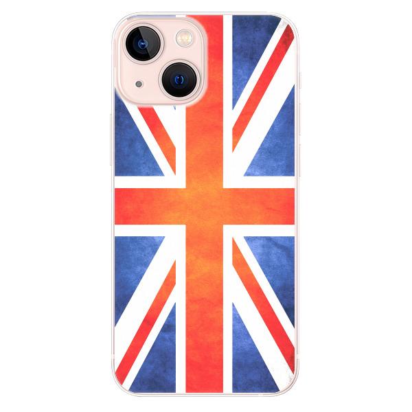 Odolné silikonové pouzdro iSaprio - UK Flag - iPhone 13 mini
