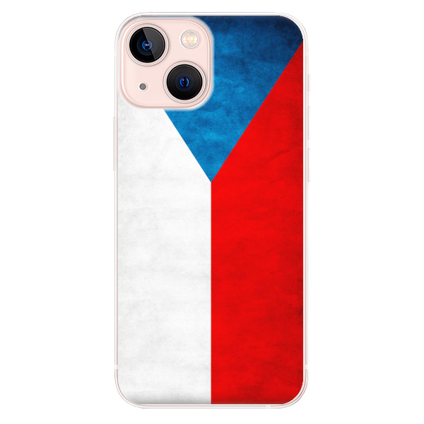 Odolné silikonové pouzdro iSaprio - Czech Flag - iPhone 13 mini