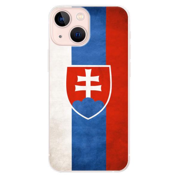 Odolné silikonové pouzdro iSaprio - Slovakia Flag - iPhone 13 mini