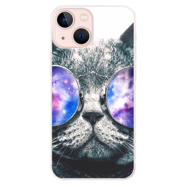Odolné silikonové pouzdro iSaprio - Galaxy Cat - iPhone 13 mini