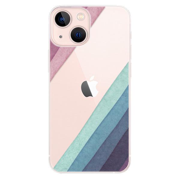 Odolné silikonové pouzdro iSaprio - Glitter Stripes 01 - iPhone 13 mini