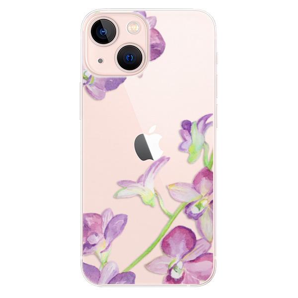 Odolné silikonové pouzdro iSaprio - Purple Orchid - iPhone 13 mini