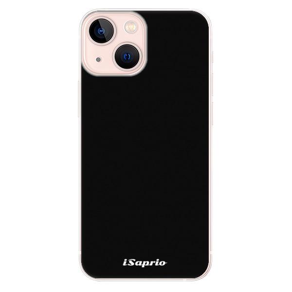 Odolné silikonové pouzdro iSaprio - 4Pure - černý - iPhone 13 mini