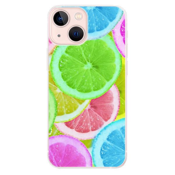 Odolné silikonové pouzdro iSaprio - Lemon 02 - iPhone 13 mini