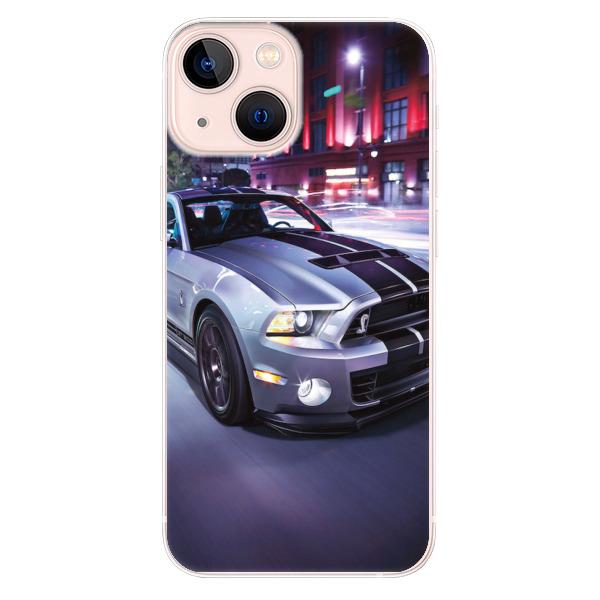 Odolné silikonové pouzdro iSaprio - Mustang - iPhone 13 mini