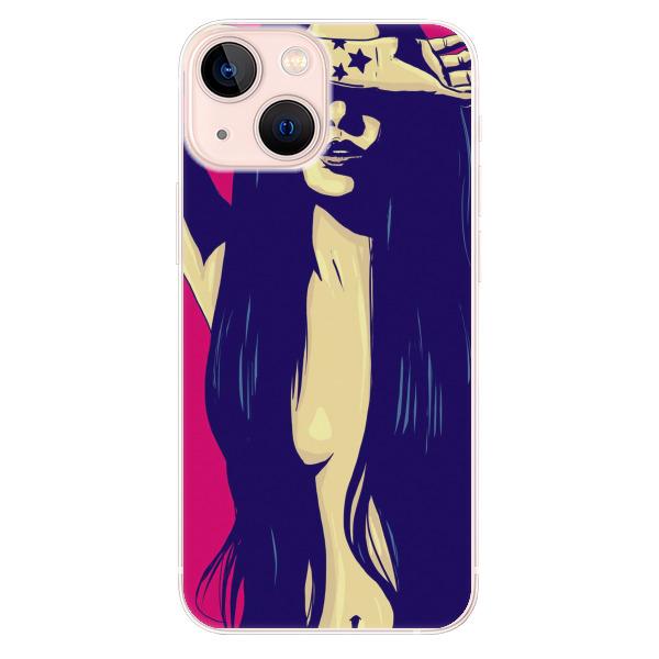 Odolné silikonové pouzdro iSaprio - Cartoon Girl - iPhone 13 mini