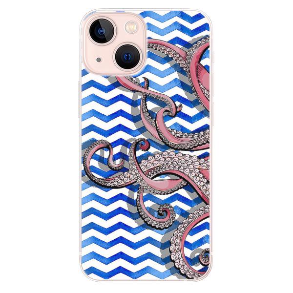 Odolné silikonové pouzdro iSaprio - Octopus - iPhone 13 mini