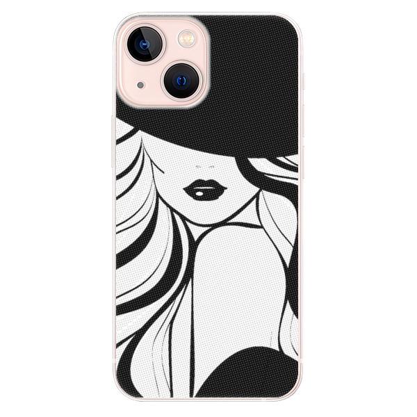Odolné silikonové pouzdro iSaprio - First Lady - iPhone 13 mini