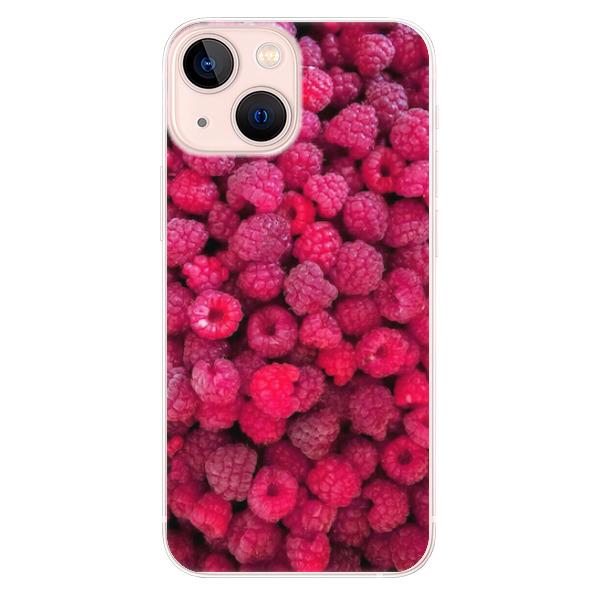 Odolné silikonové pouzdro iSaprio - Raspberry - iPhone 13 mini