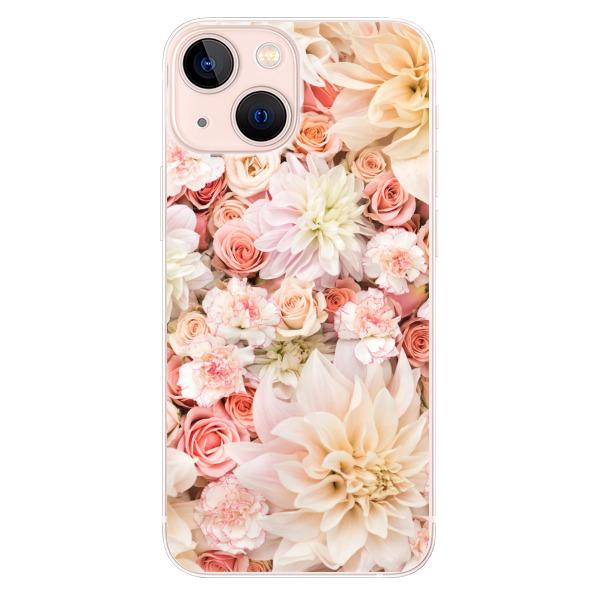Odolné silikonové pouzdro iSaprio - Flower Pattern 06 - iPhone 13 mini