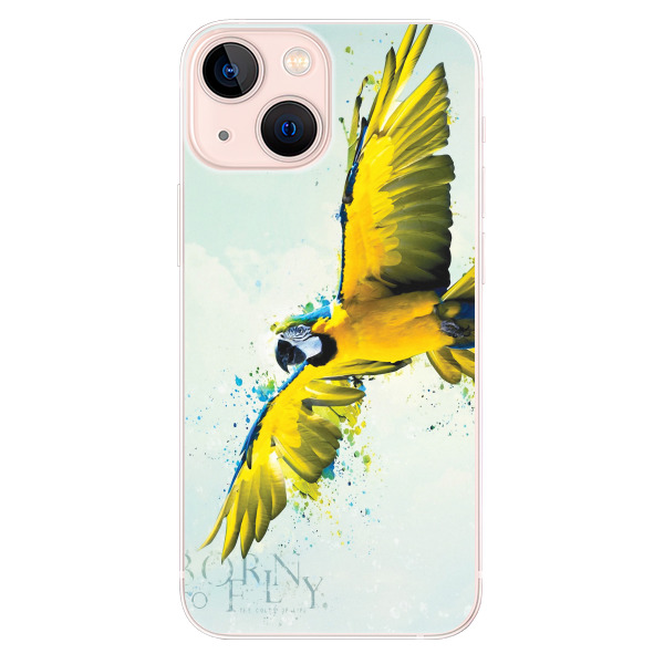 Odolné silikonové pouzdro iSaprio - Born to Fly - iPhone 13 mini