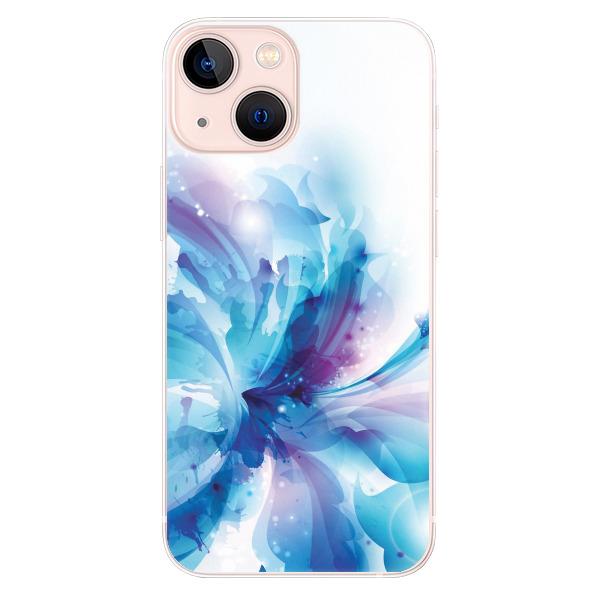 Odolné silikonové pouzdro iSaprio - Abstract Flower - iPhone 13 mini