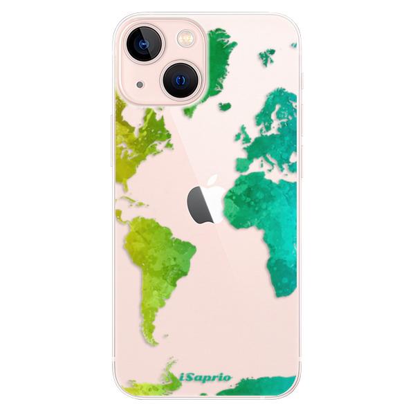 Odolné silikonové pouzdro iSaprio - Cold Map - iPhone 13 mini