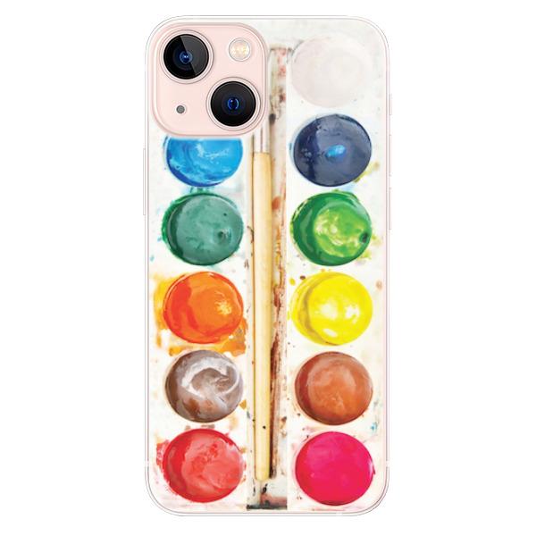 Odolné silikonové pouzdro iSaprio - Watercolors - iPhone 13 mini